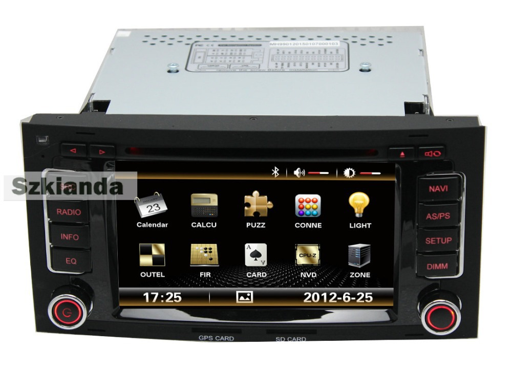 3G internet Car DVD Player with GPS for VW Touareg