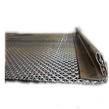 65MN Stainless steel Replacement crimped wire mesh sand gravel crusher hooked vibrating sieve screen mesh for Mining and Quarry