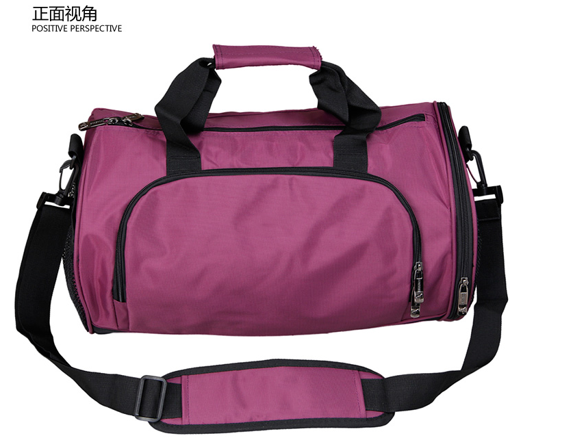 Hot sale rolling travel bag duffel bag with shoes bag