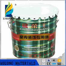 Special paint for interior decoration