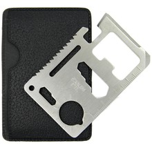 multifunction credit card tool pocket knife credit card survival tool