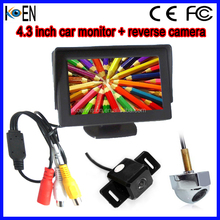 ShenZhen OEM 4.3 inch TFT-LCD Bus Reverse Monitor With DVD Player