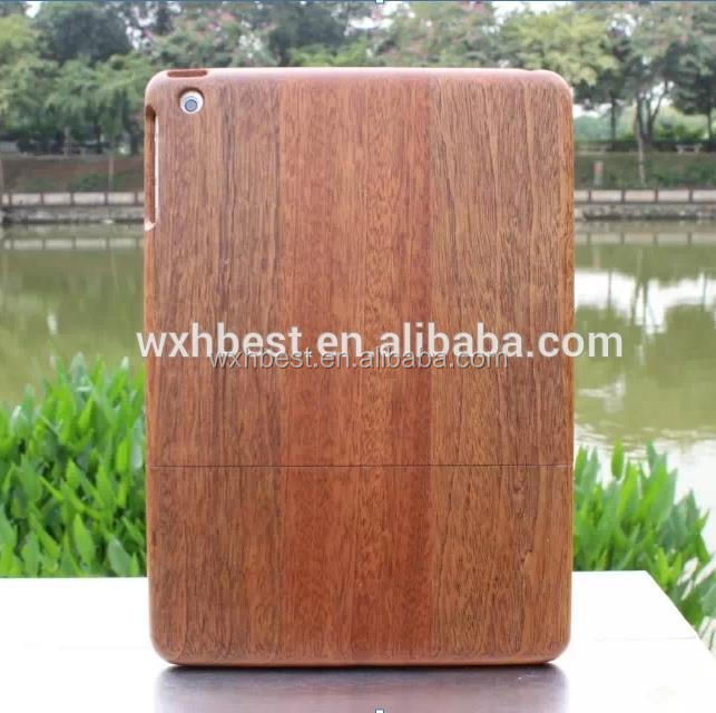 Hot Selling Wholesale Price Wood Case Bamboo Wooden Case Cover Case for iPad Air