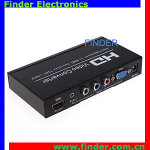 New Component HDMI Converter Which Convert VGA YPbPr to HDMI
