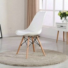 comfortable elegant PP seat dining chair
