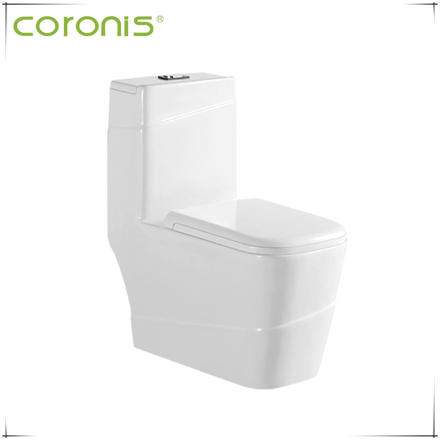 Sanitary ware one piece bathroom ceramic toilet and bath