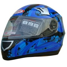 Mens Motocross helmet with communications---ECE/DOT Approved