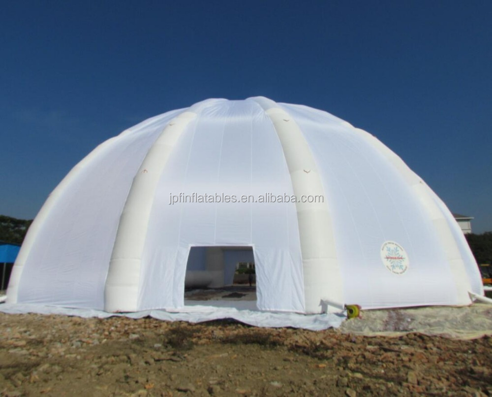 30m diameter giant outdoor inflatable dome, inflatable wedding party event yurt tent for sale