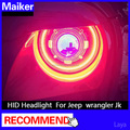 HID Headlight for Jeep jk wrangler headlamp auto parts from maiker