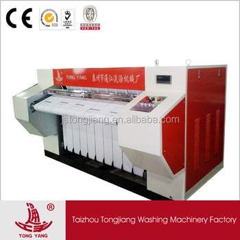 hotel hospital linen laundry equipment ironing machine Flatwork Ironer