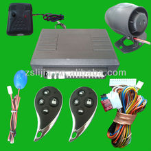 KING brand 1 way car alarm system,auto security system from Zhong Shan