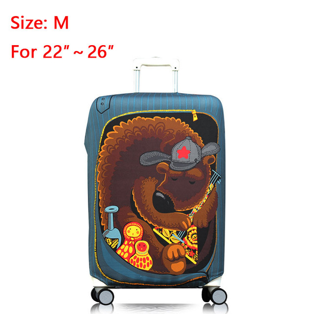 Travel On Road Anti-Dust Luggage Covers Durable Suitcase Cover Protector Protective Trolley Case Cover For 18-32 inch Luggage