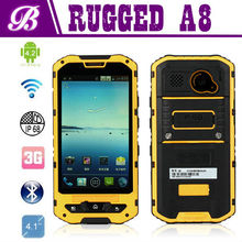 Land Rover A8 Waterproof Rugged Android 4.2 IP68 Smart Phone with 3000mah Battery