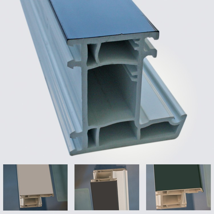 Conch pvc profile for windows and doors