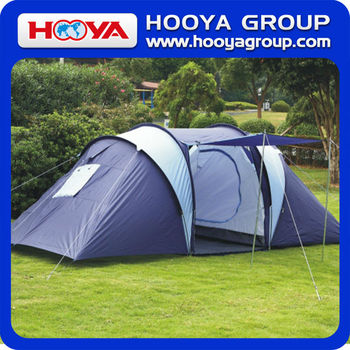 6 Person Family Camping Tent Double Layer