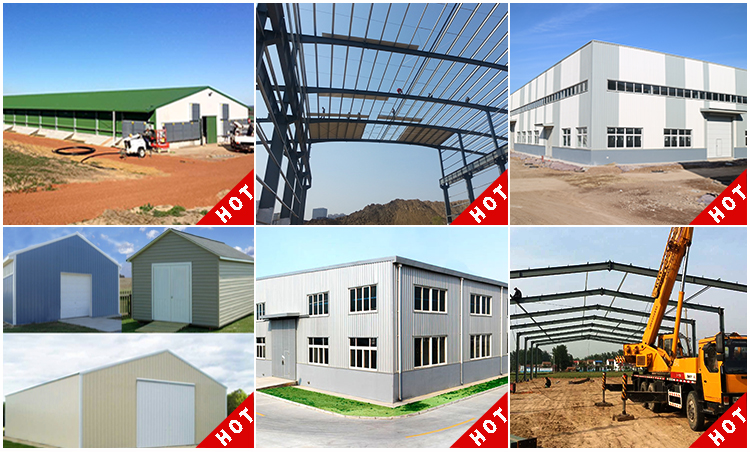 Steel Structure Prefabricated Building Horse Stable Barns