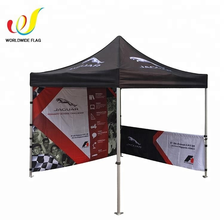 Trade Show 10x10 Outdoor Print Event Pop Up Waterproof Canopy Tent, Outdoor Folding Canopy
