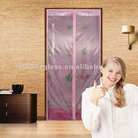 china supplier factory price magic mesh/magnetic door screen/magnetic door screen curtains