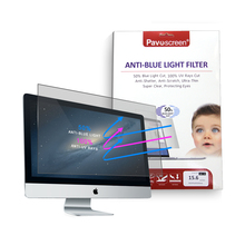 "Protective Eyes Blue Light Screen Protector Panel by Accurate Films For 23"" and 24"" Diagonal LED PC Monitor (W21.06"" X H 13.78"")"