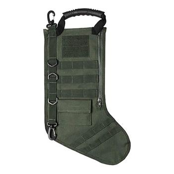 Tactical Stocking Christmas Pouch Molle Military Stocking Storage Bag Tactical Socks Tool Accessories