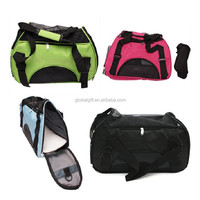 Portable Carrier Soft-Sided Pet Carrier House Deluxe Soft Sided Puppy Dog Tote Travel Bag