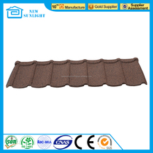 Galvanized Stone Chips Coated Steel Roof Tile