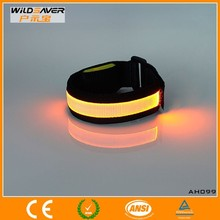 Fiber optic gift for kids brand name silicone wristband flashing led wristbands