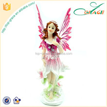 Girl's best gift resin handmade pink fairy
