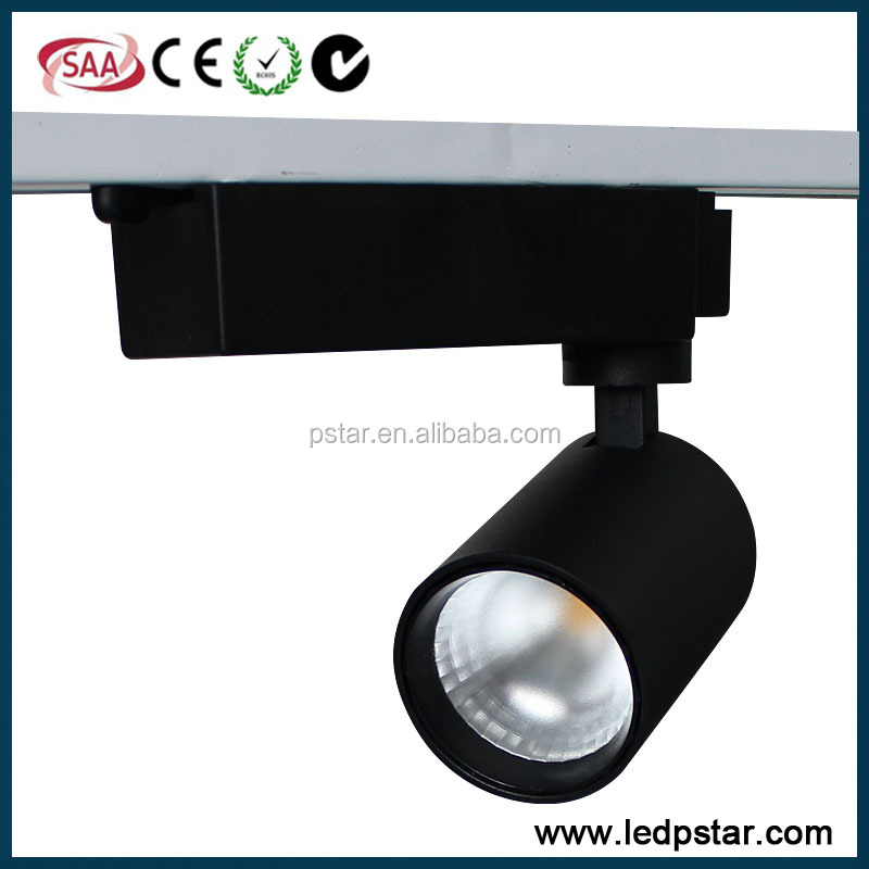 25W 30W white finish led track spotlight with 2700k 3000k 4000 <strong>k</strong> 5000k
