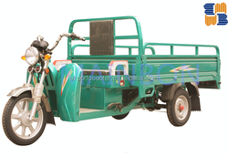 2016 new 60V 1200W high quality electric three wheelers cargo tricycles for Asia market