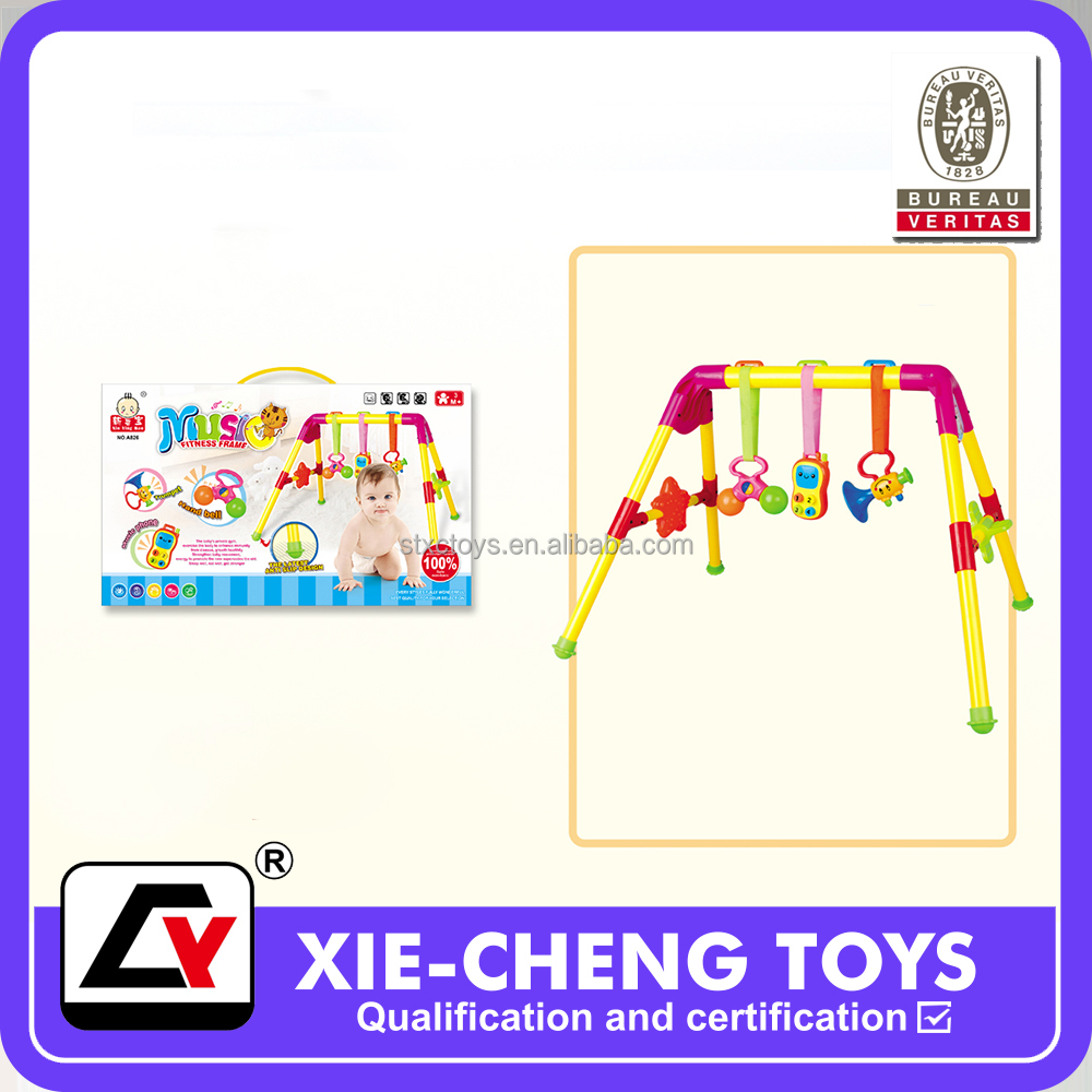 baby gym equipment learning musical fitness frame toys