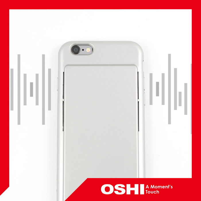 High Quality New Release Wholesale Dual Speaker Sound Conduction for iPhone 6 and 6S mobile phone cover