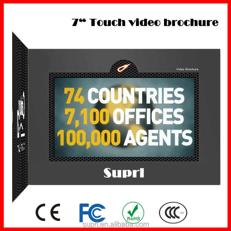 Greeting Card Sound/Invitation LCD Video Greeting Card