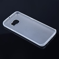 Mobile phone case clear TPU case for Samsung galaxy S6 edge