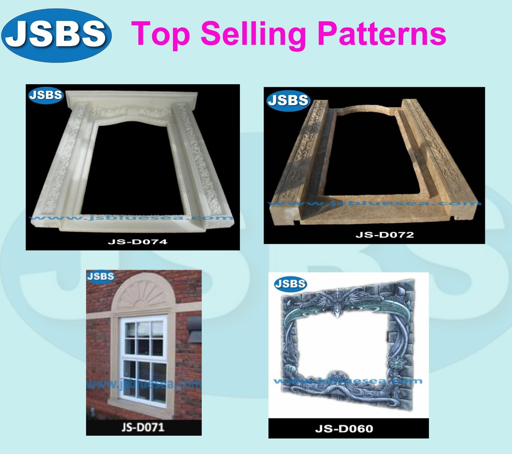 Whole Sale Price China Hand Carved Marble Door Surround