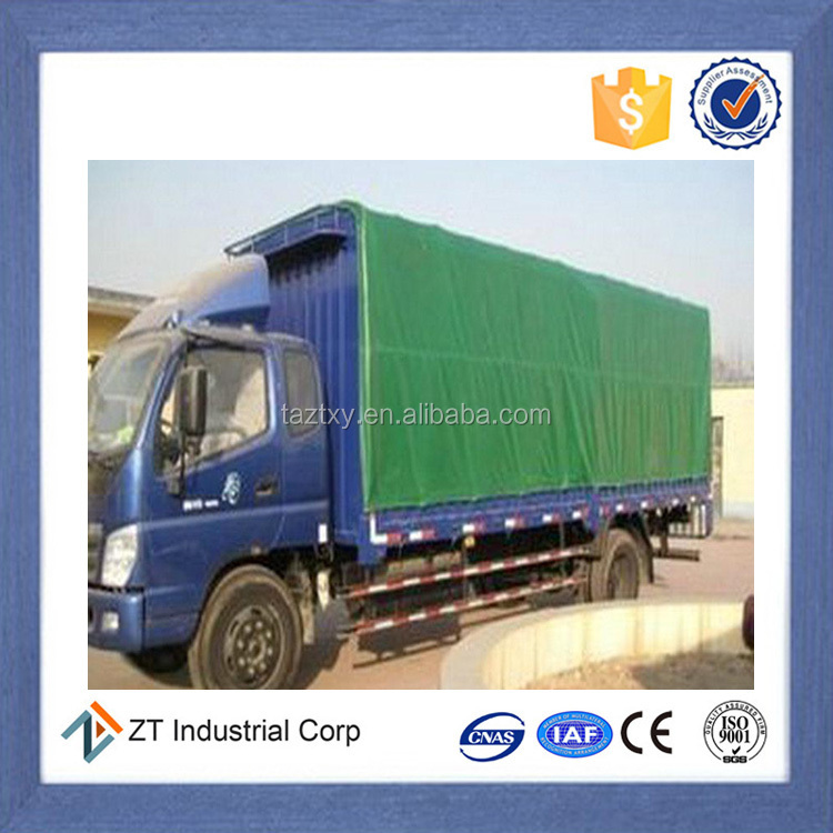 High quality low price waterproof fireproof truck cover tarp