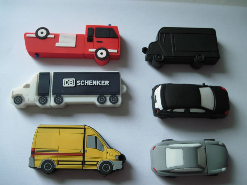 promotional silicon automobile shape usb flash drive gift