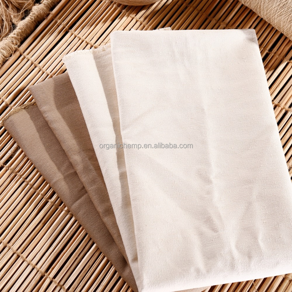 OE Certified Hemp Organic Cotton woven Fabric for 2012/2013 new fashion garment