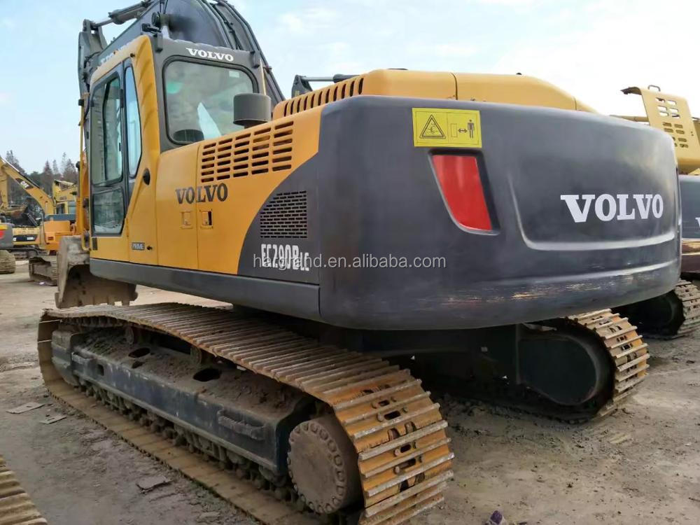 strong power VOLVO EC290BLC used construction excavator for sale