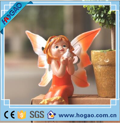 Custom fairy garden miniatures angel figurine fairy figurines wholesale