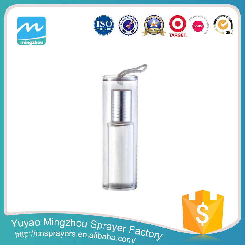 Manufacturer Fashion High Quality Reasonable Price Silver Glass Container For Perfume
