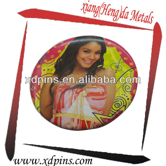 new product 2015 engraving photos on metal badge