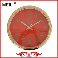Holiday Gift Gold Clock