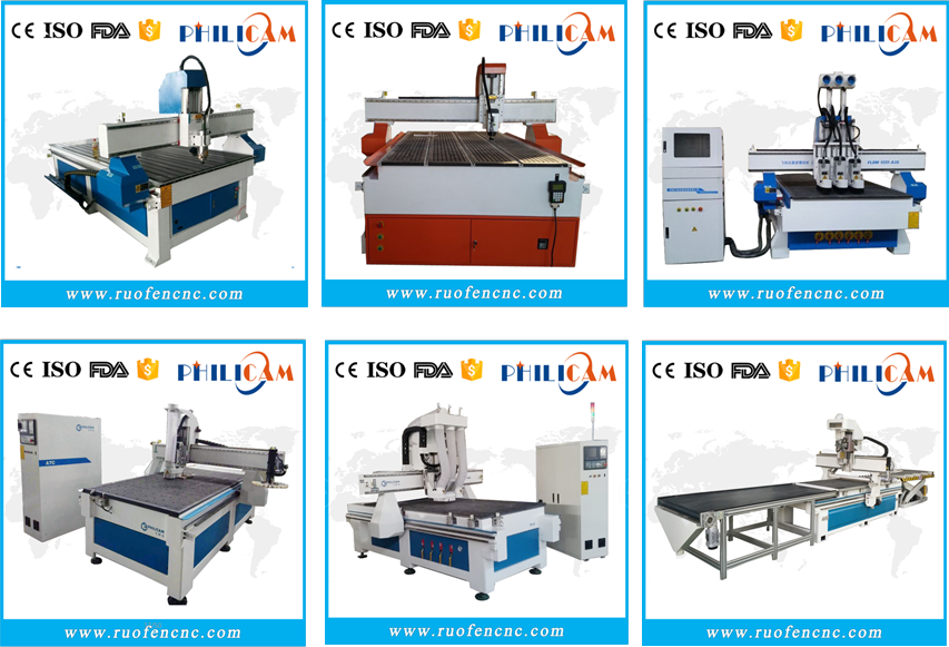 sell well Philicam cnc router 1325 for engraving wood