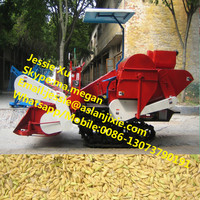 agricultural mini rice harvester tractor combine harvester for wheat