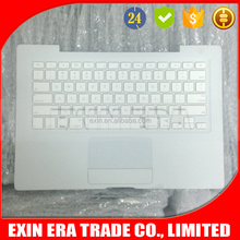 "13"" White TopCase For Apple Macbook A1181 Top Case With Touchpad Keyboard"