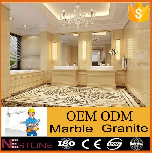 High quality machine-cut white carrara volakas marble for hotel lobby flooring