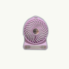 Good-looking Colorful 5V 4 inch Summer Cooling USB Mini Rechargeable Fan with CE and CC Certificate for School and Home Use