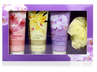 150ml shower gel and bubble bath and body lotion