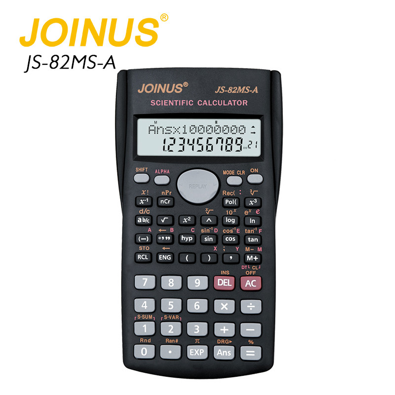 Promotion JOINUS Big Led Display 12 Digit Scientific Calculator For Student